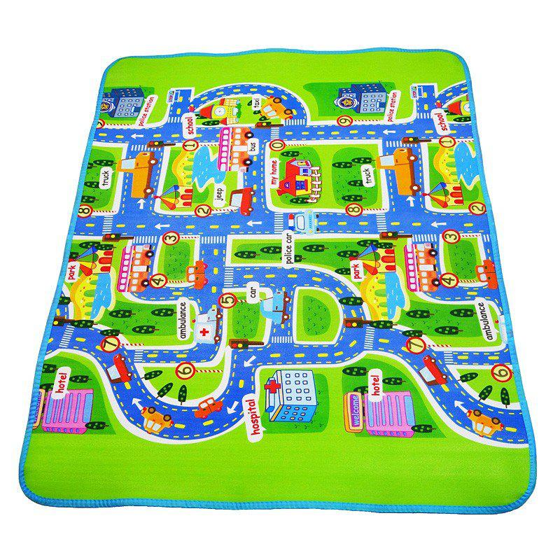 Baby Play Mat Toys for Children's Developing Carpets Rug Playmat rug bag for finger monkey dolls portable storage box kids play toys