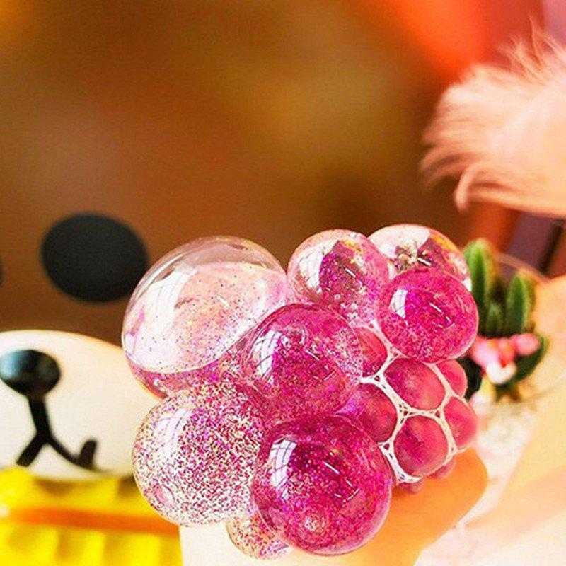 Decompression Pinched Gold Powder Grape Crystal Ball Give Vent  Toy - multicolor D