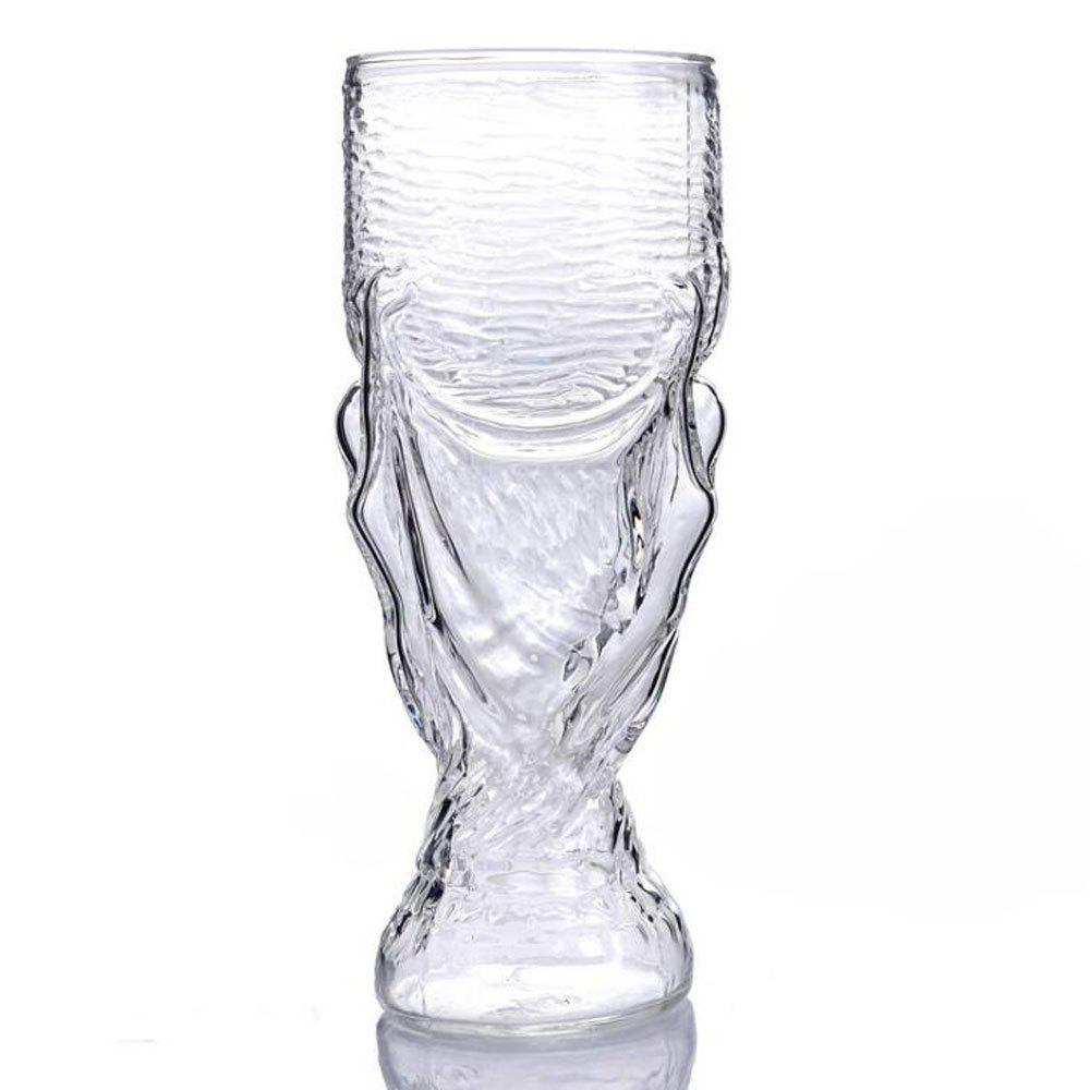 Creative Vodka Beer Crystal Whisky Wine Glass - TRANSPARENT