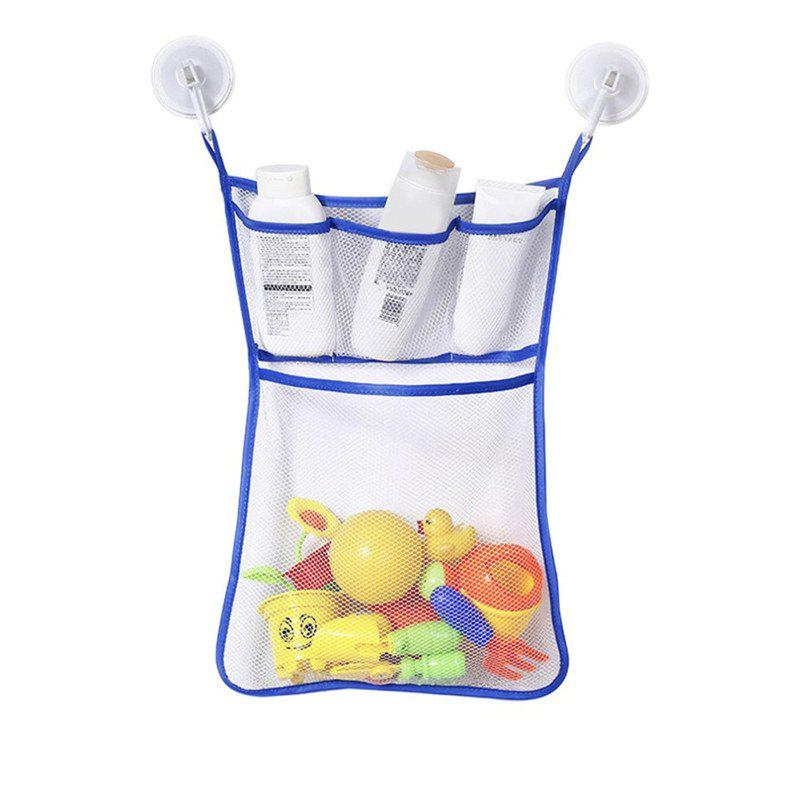 Baby Bathroom Hanging Mesh Bath Toy Storage Bag New Arrival - OCEAN BLUE