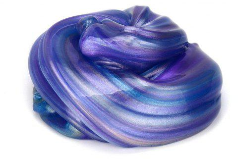 Jumbo Galaxy  Satisfying Fluffy Scented Stress Relief Sludge Toy for Kids - multicolor A