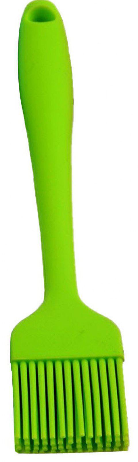 Silicone Basting Bbq Pastry Barbecue Utensil Use for Grilling Marinating Desser - GREEN