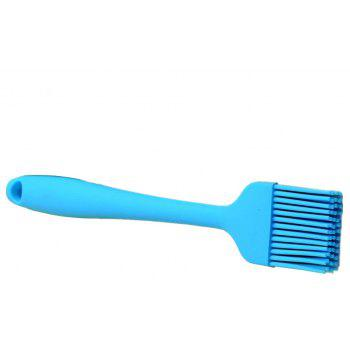 Silicone Basting Bbq Pastry Barbecue Utensil Use for Grilling Marinating Desser - DEEP SKY BLUE