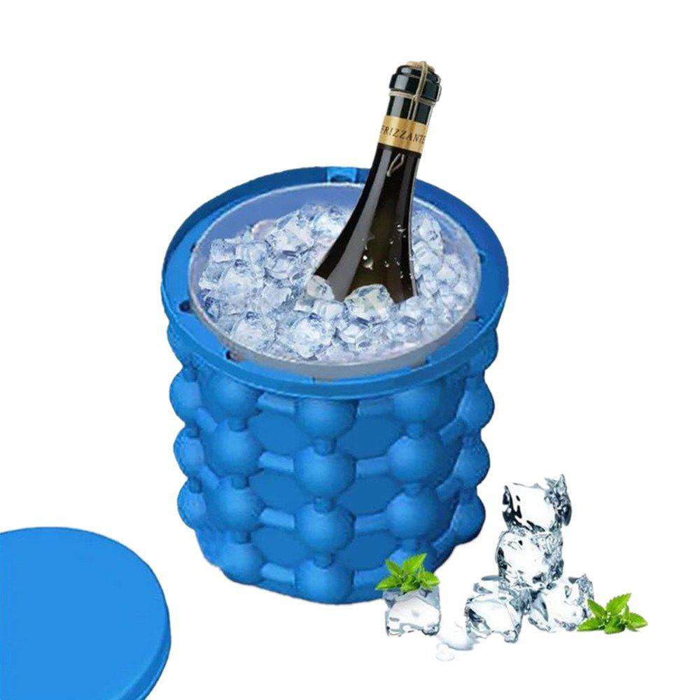 Cube Maker Silicone Ice Bucket Kitchen Tools Cubes Machine kleibi home creative ice cocktail machine главная ice box холодильник ice maker diy ice maker klb1012 48 сетка для решетки ice grid white