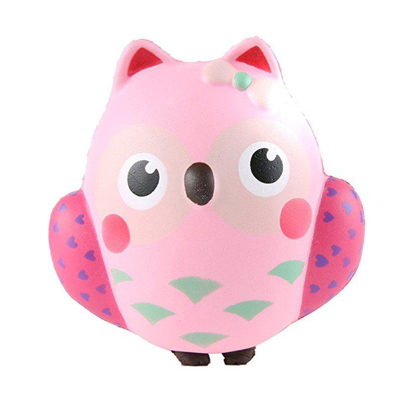 Jumbo Squishy Kawaii Cute Owl Cream Scented Toy owl clockwork toy