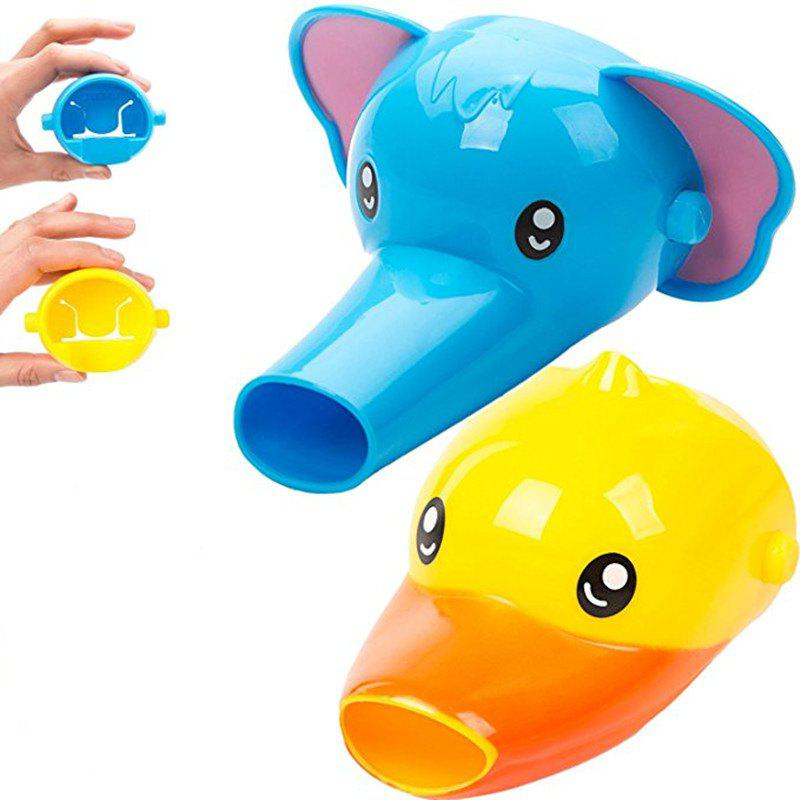 Faucet Extender for Kids Set of Animal Spout Extenders for Sink 2PCS - multicolor