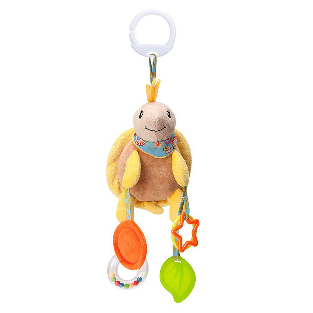 Infant Stroller Washable Kids Hanging Toy for Crib with Rattle Ring - multicolor D