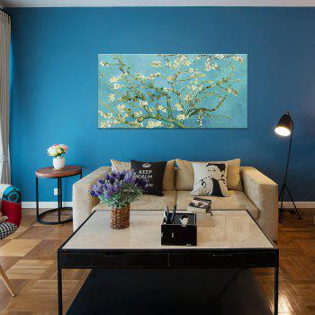 W366 Branch and Flower Unframed Art Wall Canvas Prints for Home Decorations - multicolor A 100CM X 50CM