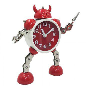 Robot Clock Kids Toy Gift - RED