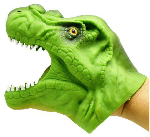 Green Dinosaur Hand Puppet Toy Story Prop - GREEN ONION