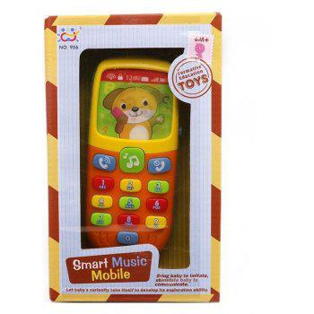 Baby Toys Cellphone Early Educational Phone Model Machine Toy for Children - multicolor