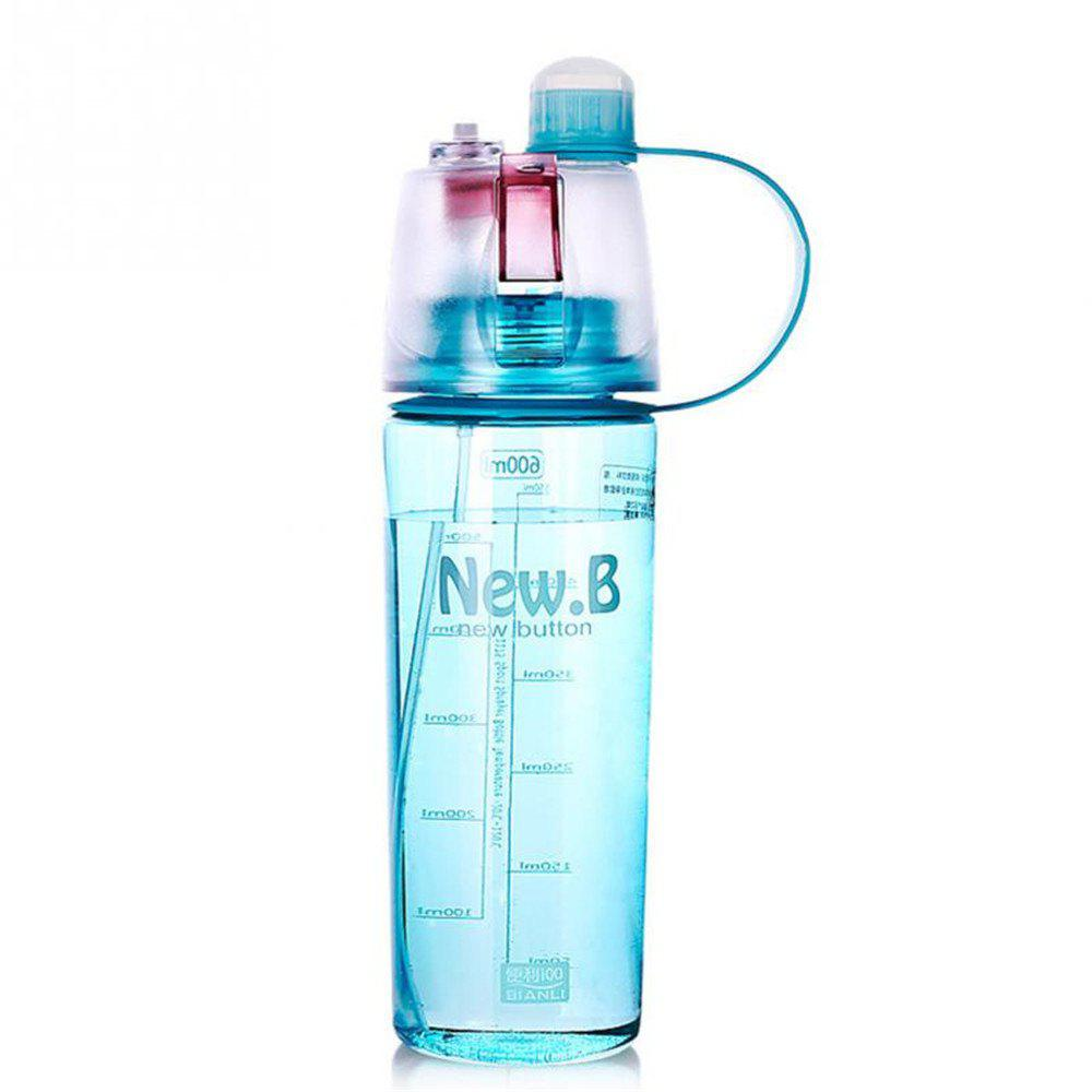 Portable Outdoor Sports Spray Cup - ELECTRIC BLUE