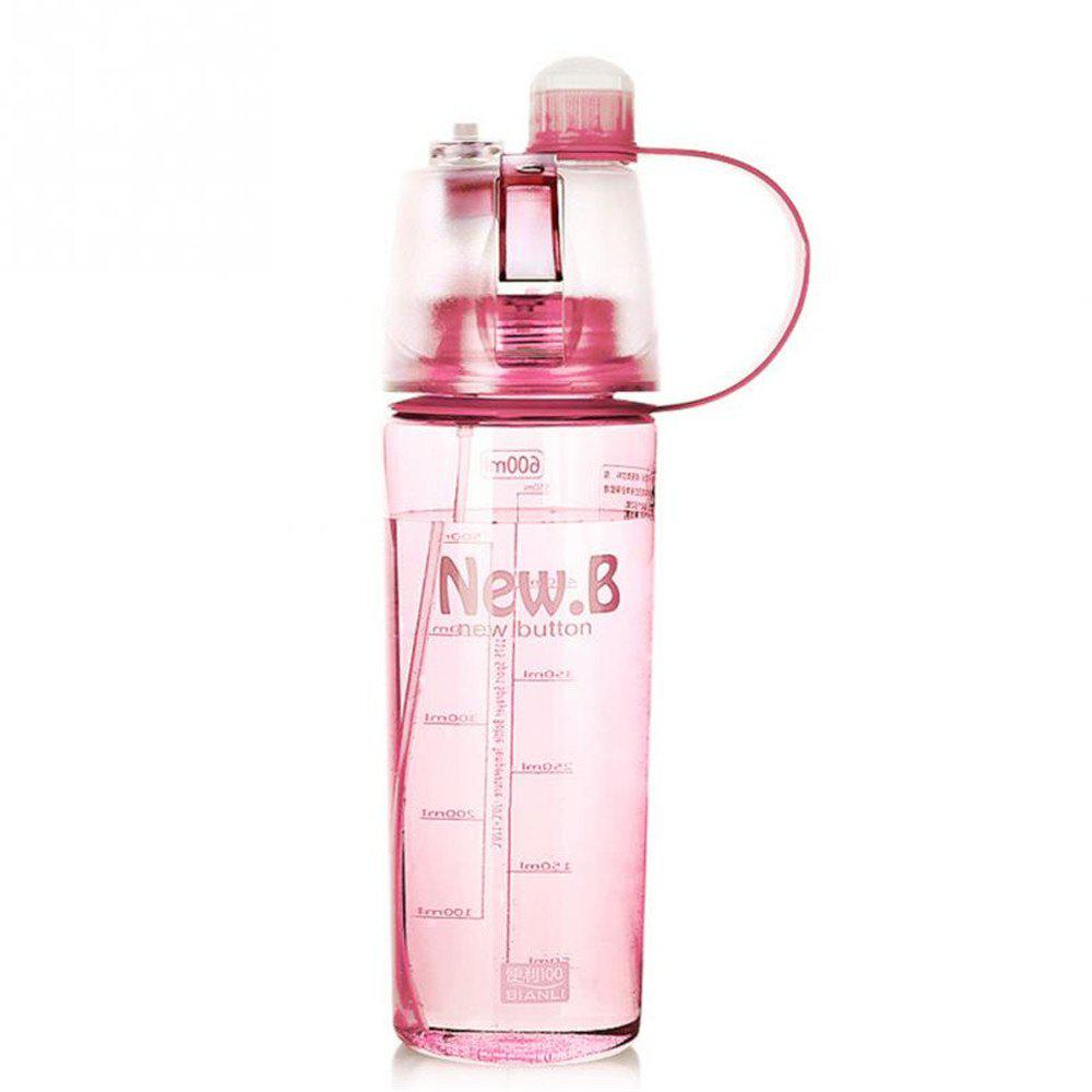 Portable Outdoor Sports Spray Cup - PINK