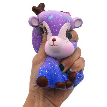 Jumbo Squishy Simulation Star Slow Rebound Grand Modèle Décompression Jouets - Pourpre