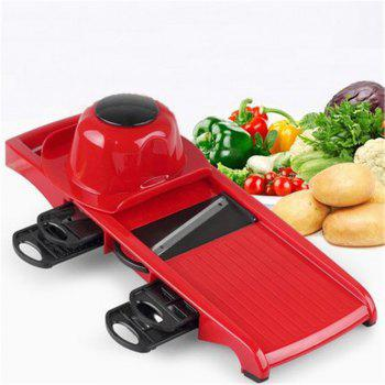 Vegetable Chopper 12 in 1 Multi-Functional Grater Cutter Sets Food Container - VALENTINE RED