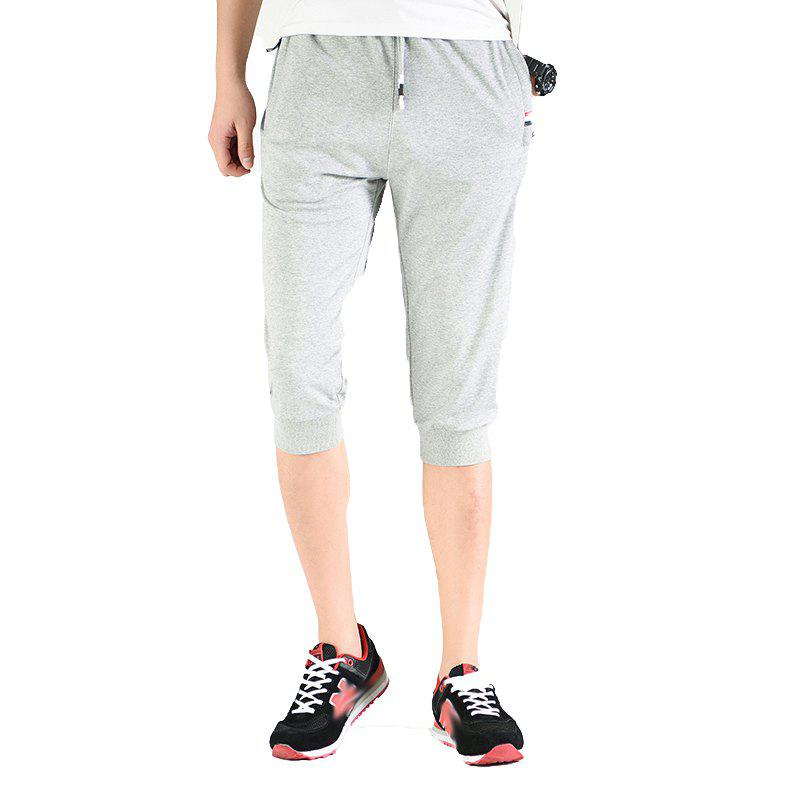 Men's Fashion Casual Sports Pants - GRAY L