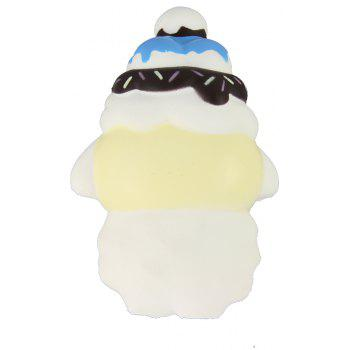 Jumbo Squishy White Sheep Relieve Stress Toys - multicolor A