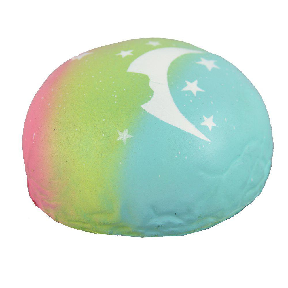 Jumbo Squishy Colour Steamed Buns Toys - multicolor A