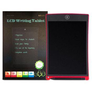 8.5 Inches LCD Digital Writing Tablet Portable Electronic Graphics Board - RED
