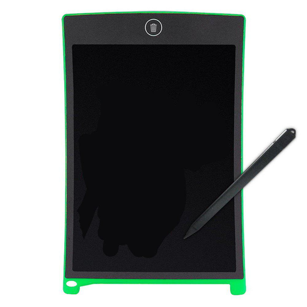 8.5 Inches LCD Digital Writing Tablet Portable Electronic Graphics Board - GREEN