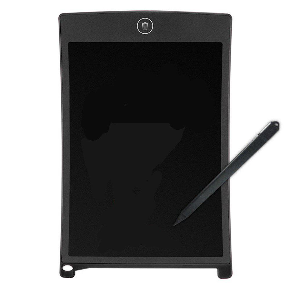 8.5 Inches LCD Digital Writing Tablet Portable Electronic Graphics Board - BLACK
