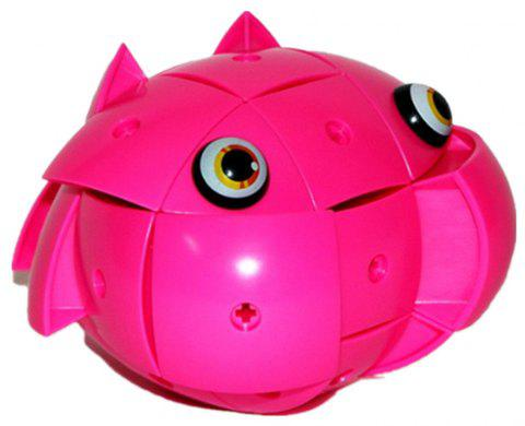 Creative Magnetic Deformable Egg Building Blocks - ROGUE PINK