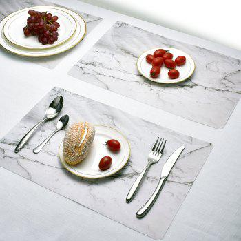 Washable Fabric Placemats for Dining Room Kitchen Table Decoration 4Pcs - multicolor B