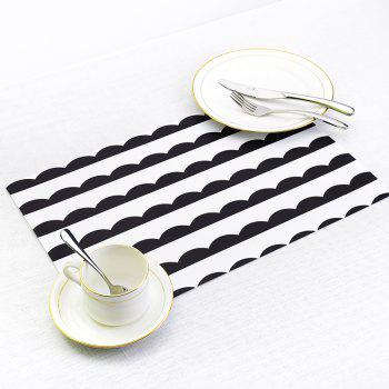 Washable Fabric Placemats for Dining Room Kitchen Table Decoration 4Pcs - multicolor A