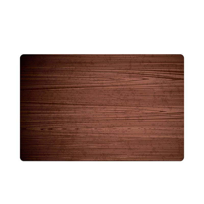 Washable Fabric Placemats for Dining Room Kitchen Table Decoration 4Pcs - BROWN
