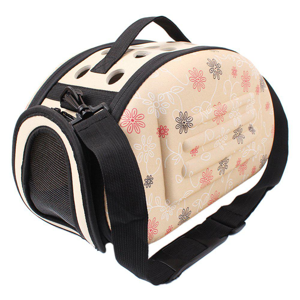 Portable Breathable Pet Backpack - APRICOT
