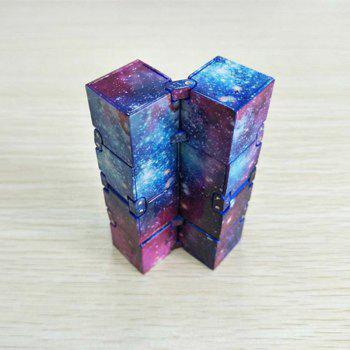 Relieve Stress Anxiety Decompression Unlimited Folding Magic Cube Toy - multicolor