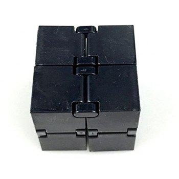 Relieve Stress Anxiety Decompression Unlimited Folding Magic Cube Toy - BLACK
