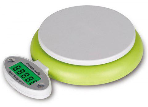 LCD Display Digital Scale Electronic Kitchen Food Measurement - SLIME GREEN