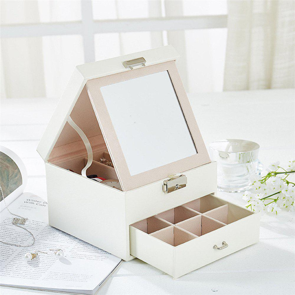 European Pu Cortico Jewel Box - WHITE