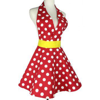 Fashionable Sexy Lady  Apron - multicolor A ONE SIZE(FIT SIZE XS TO M)