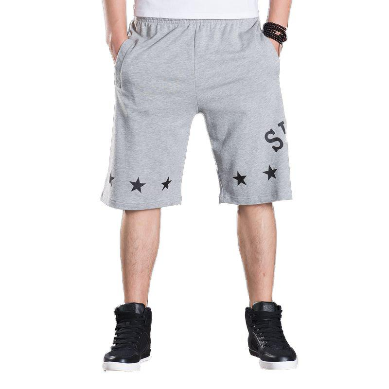 Summer Hot Selling Plus Size Men's Shorts - GRAY 4XL