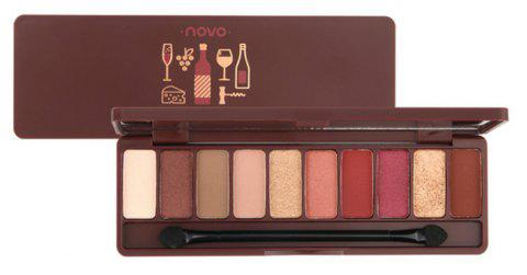 NOVO Fashion Eyeshadow Palette 10 Colors Matte Naked - 005