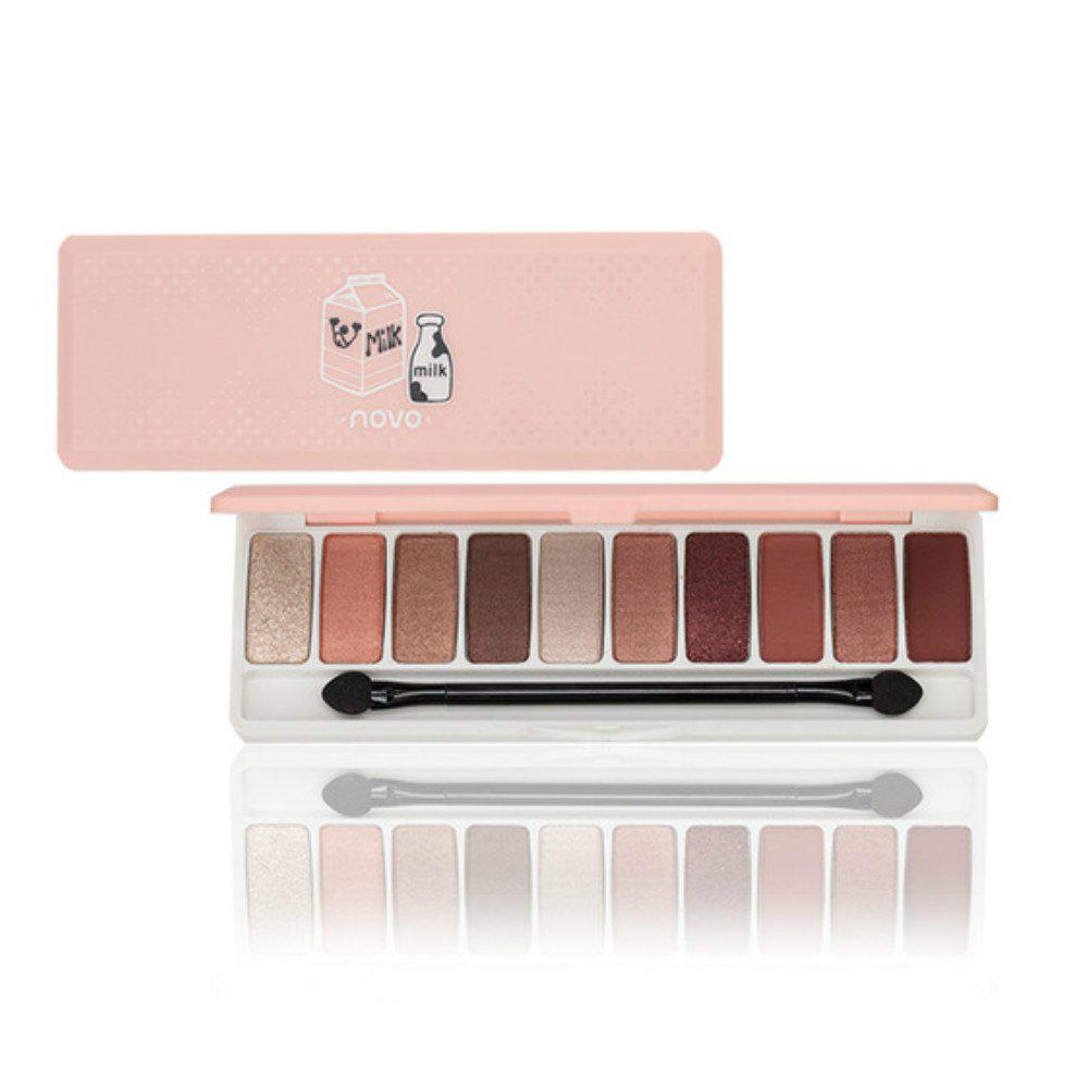NOVO Fashion Eyeshadow Palette 10 Colors Matte Naked -