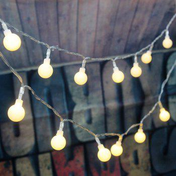 100LED Globe String Lights for Patio Garden Xmas Tree Weeding Decoration - WARM WHITE