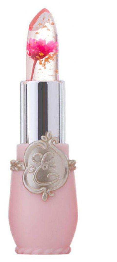 Flower Lipstick Jelly Crystal Temperature Changed Lip Balm - 002