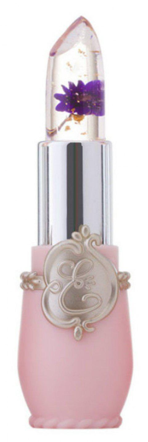 Flower Lipstick Jelly Crystal Temperature Changed Lip Balm - 006