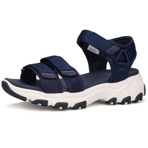 HUMTTO Women Quick-drying Summer Non-slip Lightweight Cushioning Beach Sandals - DEEP BLUE 38
