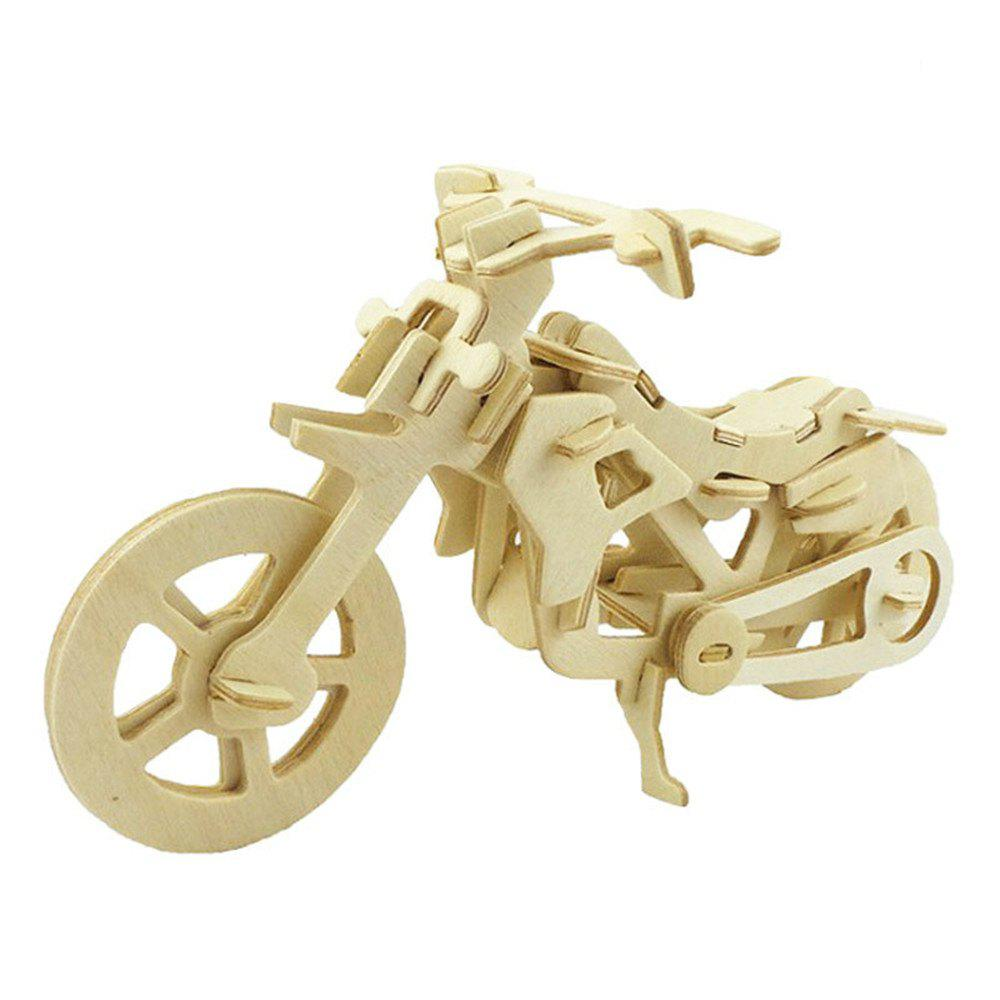 DIY 3D Wooden Puzzle Cool Motor Bike for Kids Gift 271901401