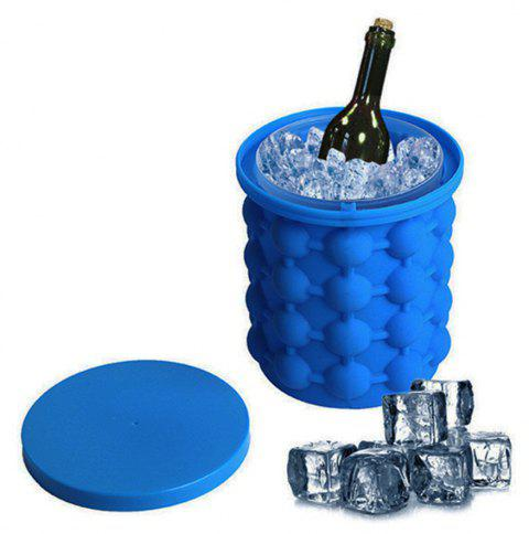 Ice Cubes Maker Mold Bar Tools - BLUE
