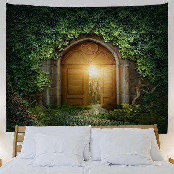 Mystic Door 3D Printing Home Wall Hanging Tapestry for Decoration - multicolor W153CMXL102CM