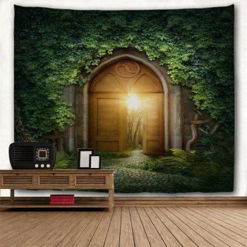 Mystic Door 3D Printing Home Wall Hanging Tapestry for Decoration - multicolor W230CMXL180CM