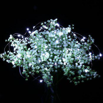 100 Led String Fariy Lights Battery Operated Waterproof with Remote Control - COOL WHITE