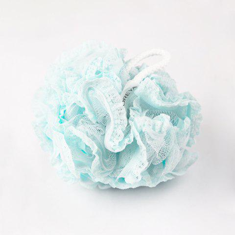 ZOREYA Fashion Lace Bath Flower Ball - ROBIN EGG BLUE