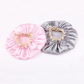 ZOREYA Double Water Proof Shower Cap - PINK