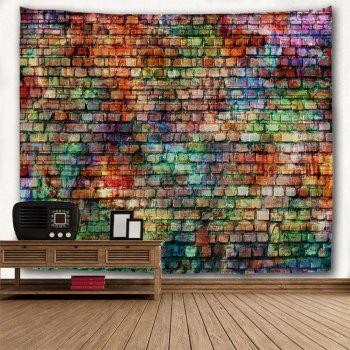 Colorful Bricks 3D Printing Home Wall Hanging Tapestry for Decoration - multicolor W153CMXL130CM